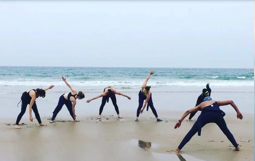 Gruppo Surf ad Agadir