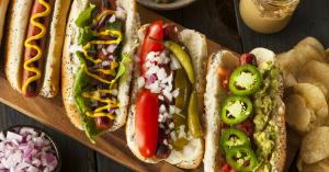 hot dog vegetariano varie salse