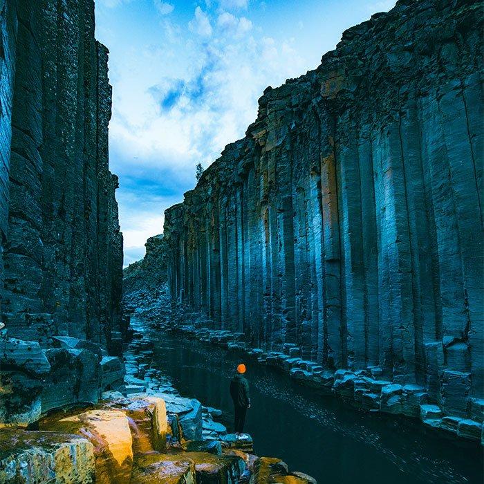 Studlagil Canyon