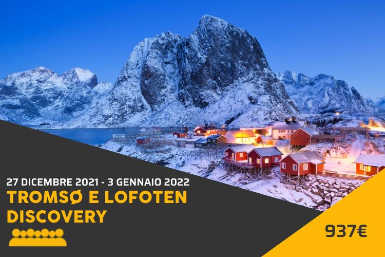 viaggio di gruppo Tromso e Lofoten